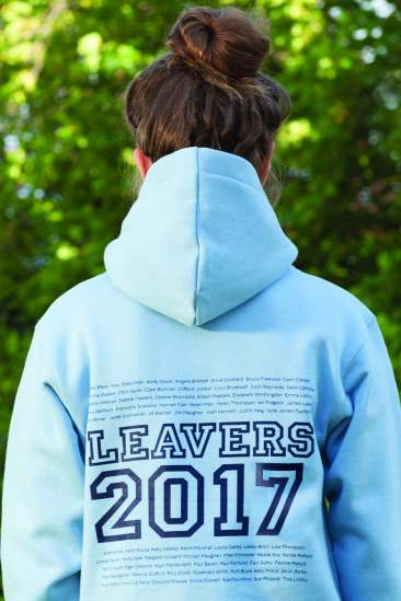 Leavers 2017 Hoodies Clothing School College University Leaver